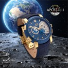 "Kronsegler Automatikuhr ""APOLLO 11"" vergoldet - 100494100000 - 5 - 140px"