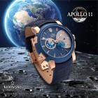 "Kronsegler Automatikuhr ""APOLLO 11"" rosévergoldet - 100494200000 - 5 - 140px"
