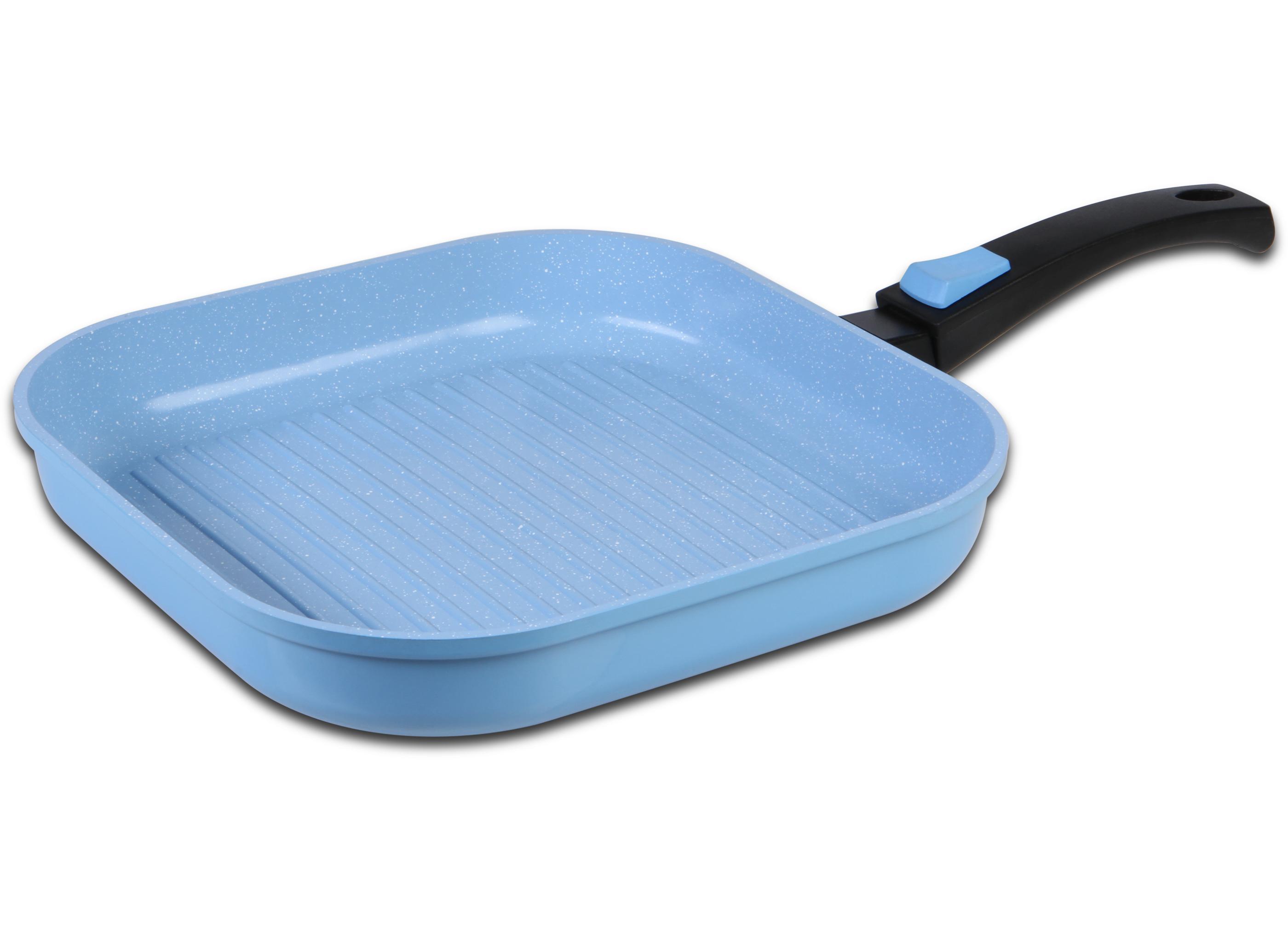KING® Grillpfanne blau   Töpfe und Pfannen