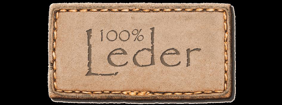 100% Leder