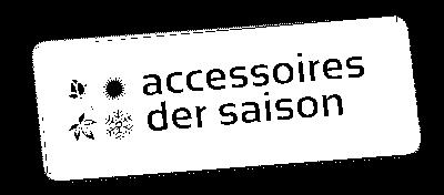Accessoires der Saison