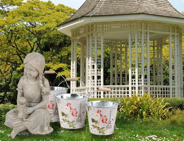 Kreativer Garten!