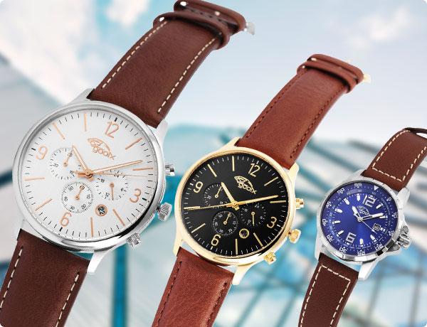 Zeit für modische Uhren!